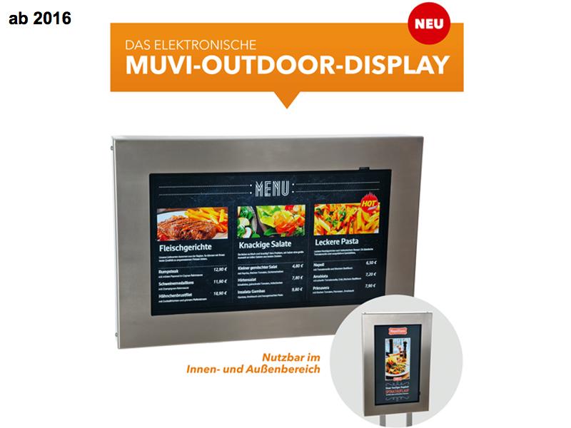 MUVI elektronisches Outdoor-Display
