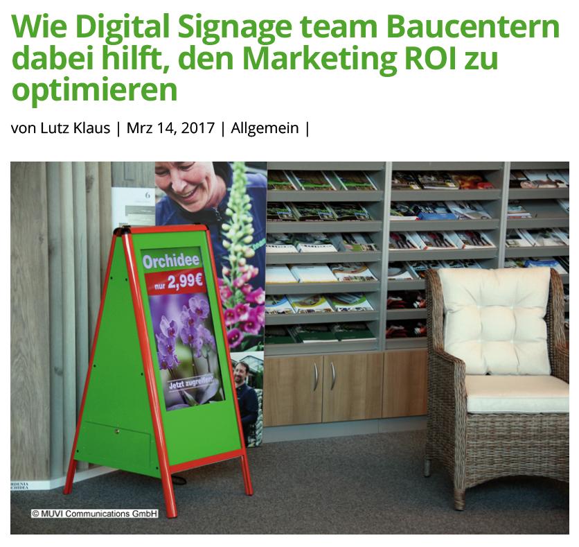 Artikel Marketing ROI Consulting-Lutz Klaus