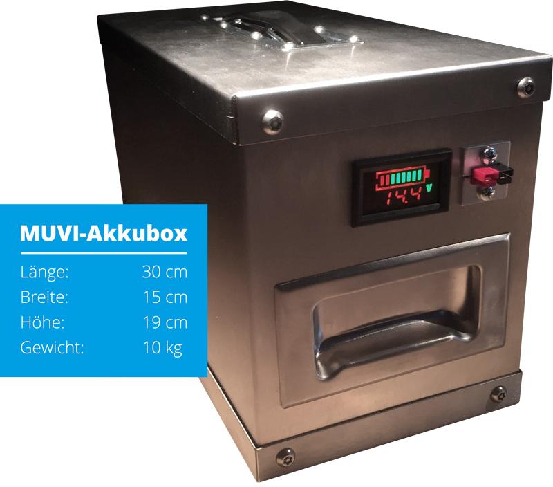 MUVI-Akkubox