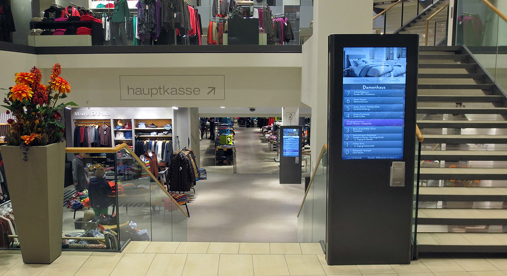 DIGITAL SIGNAGE flexibel nutzbares Marketinginstrument